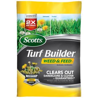 Scotts 15,000 sq ft Turf Builder Weed and Feed Lawn Fertilizer (28 0 3)