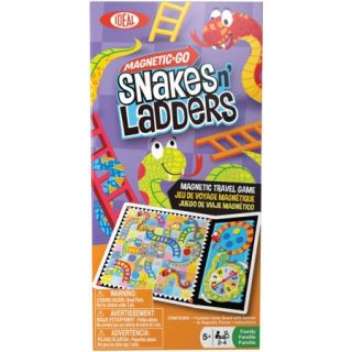 Ideal Magnetic Go! Snakes n' Ladders