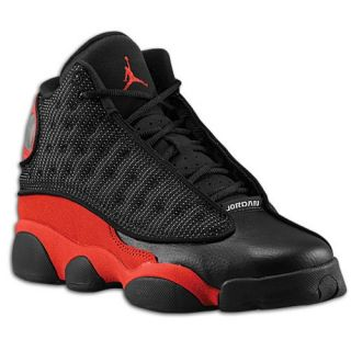 Jordan Retro 13   Boys Grade School   Basketball   Shoes   Black/Gym Red/Black