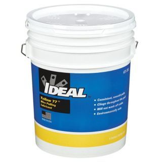 IDEAL Wire Pulling Lubricant, 5 gal. Container Size   Chain & Cable Lubricants   10F528 31 355