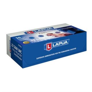 LAPUA HANDGUN AMMO 9MM FMJ 123GR  : HANDGUN AMMUNITION