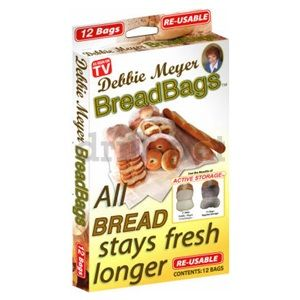 Allstar Products Group DM051124 12 Count Debbie Meyer Bread Bags