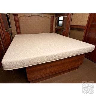 InnerSpace 4.5 inch RV Camper Cool Gel Memory Foam Mattress   Three Quarter 48 x 75   Innerspace Luxury Products RVGEL 4875   Bed Pads & Mattresses