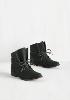 Whole Java Love Bootie in Deep Teal  Mod Retro Vintage Boots