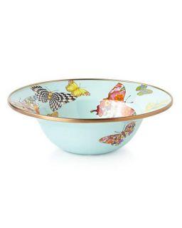 MacKenzie Childs Butterfly Garden Sky Dinnerware