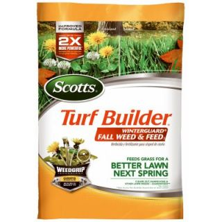 Scotts Turf Builder Winterguard Fall Weed & Feed, Covers 15,000 Sq. Ft.: Model# 50240