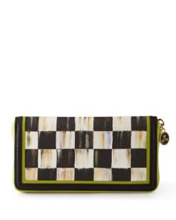 MacKenzie Childs Courtly Check Wallet