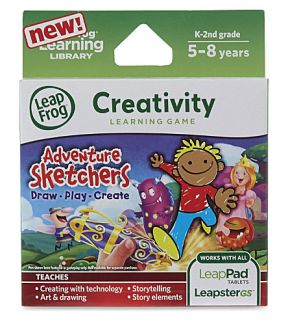LEAP FROG   Adventure Sketches learning game
