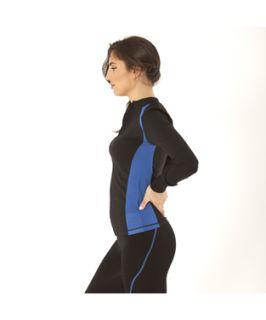 Electric Yoga Jacket With Stitching (381498701)
