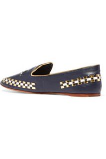 Marlow stitched leather loafers  Tory Burch