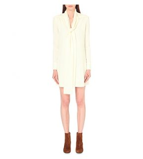 SEE BY CHLOE   Bow detail crepe dress
