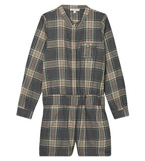 CHLOE   Checked playsuit 4 14 years