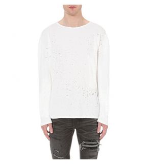 AMIRI   Shotgun cotton jersey t shirt