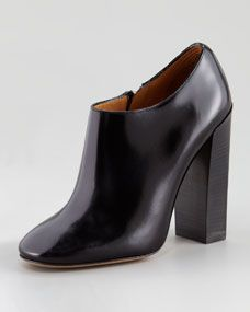 Chloe Calfskin Ankle Boot