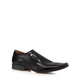 Jeff Banks Designer black prince side lace shoes