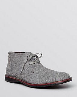 John Varvatos Star USA Hipster Wool Chukka Boots