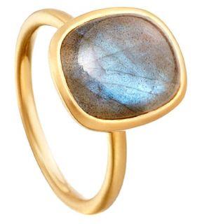 ASTLEY CLARKE   Colour tamborim labradorite ring