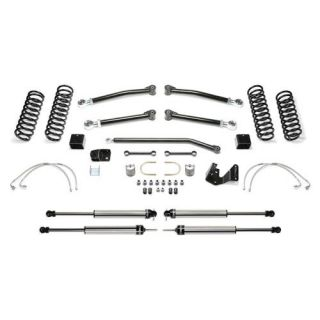 Fabtech   3 Inch Trail II System with Dirt Logic 2.25 Non Resi Shocks   Fits 2007 to 2016 JK Wrangler and Rubicon