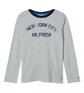 TOMMY HILFIGER   Andrew striped t shirt 4 16 years