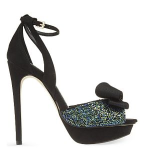 MISS KG   Ellie suede heeled sandals