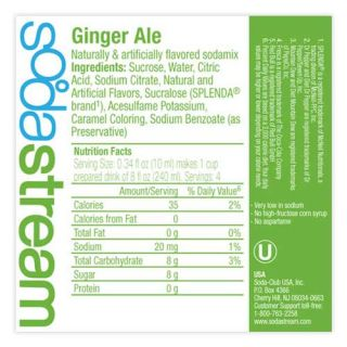 SodaStream SodaMix Six Pack   Ginger Ale