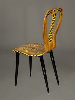 Fornasetti Guitar Chair