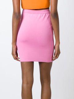 Jeremy Scott Cartoon Face Pencil Skirt   Hervia Bazaar