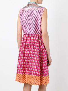 Diane Von Furstenberg Patchwork Shirt Dress   Loschi