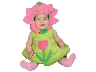 Dress Up America 278 6 12 Dazzling Baby Flower Costume Set   6 12 Months