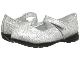 Baby Deer Glitter Mary Jane (Infant/Toddler) Silver