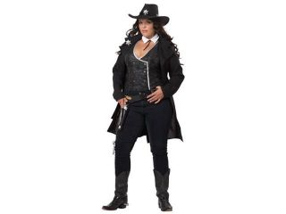 Plus Size Sexy Marshalll Adult Cowgirl Halloween Costume