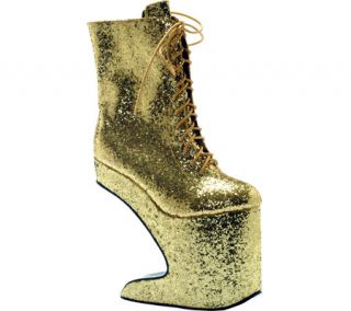Womens Bettie Page Chablis   Gold Glitter