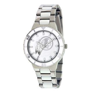 Game Time Womens Washington Redskins Logo Pearl Watch   14430436
