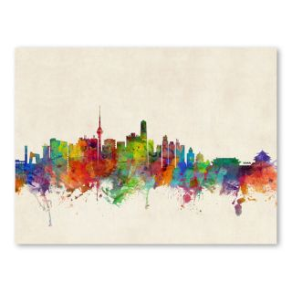 Beijing China Skyline Wall Mural by Americanflat