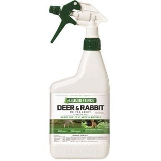 Liquid Fence Quart Ready to Use Deer and Rabbit Repellent