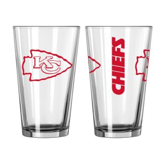 Kansas City Chiefs Game Day Pint Glass 2 Pack   17853904