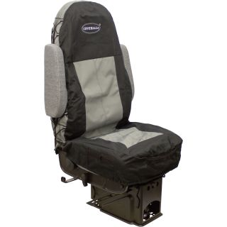 Seats Inc. COVERALLs Truck Seat Cover — Two-Tone Black/Gray, Model# 9107  Seat Covers