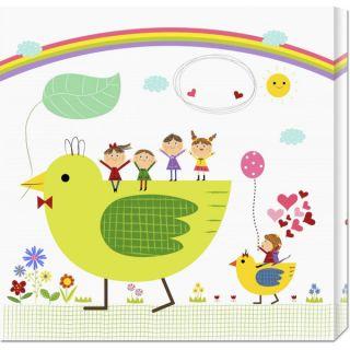 Big Canvas Co. Jiyeong Na Happy children enjoying their time IV