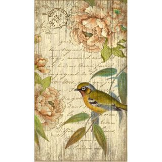 Vintage Signs Suzanne Nicoll Right Bird Graphic Art Plaque
