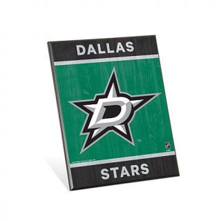 "NHL Team Logo 8"" x 10 3/4"" Easel Back Sign   Dallas Stars   7808860"