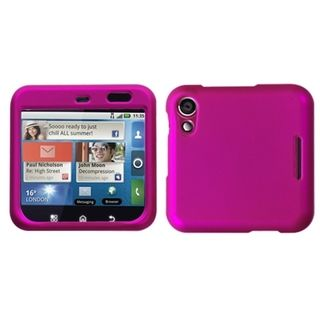 INSTEN Titanium Hot Pink Phone Case Cover for Motorola MB511 Flipout