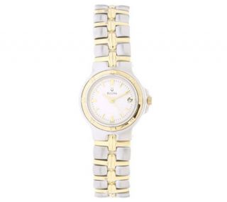 Bulova Ladies Two tone Dress Watch —