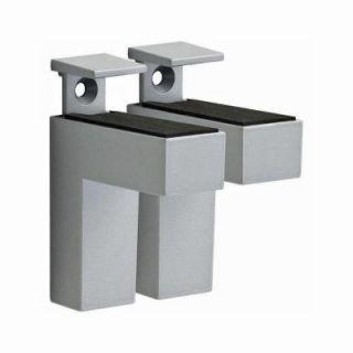 Dolle ELIOT 3/16 in.   1 1/2 in. Adjustable Shelf Bracket in Stainless Steel 15514
