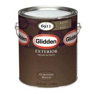 Glidden Premium 1 gal. Satin Latex Exterior Paint GL6911 01