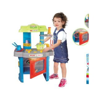 Fun Cooking Plastic Play Kitchen by Berry Toys