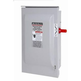 Murray 30 Amp Non Fused Indoor Safety Switch GU221