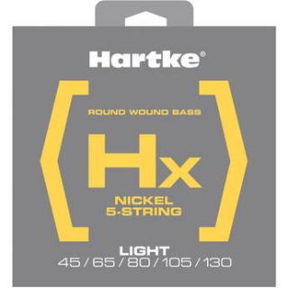 Hartke HX545 Nickel Round Wound Electric Bass Guitar HX545