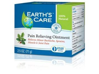 Earth's Care Pain Relieving Ointment   2.5 oz