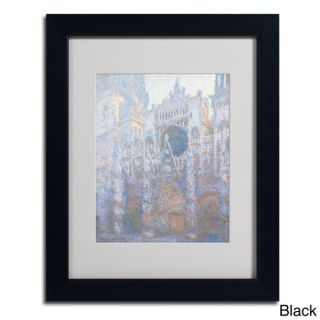 Claude Monet Rouen Cathedral West Facade 1894 Framed Matted Art