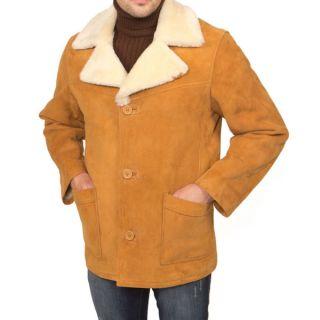 Mens Ricardo B.H. Bomber Jacket Brown/Natural Leather
